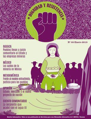 """Boletín Informativo """"Dignidad y Resistencia"""" No. 3: Mineras a juicio"""