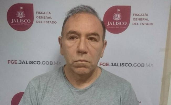 Germán Tenorio detenido