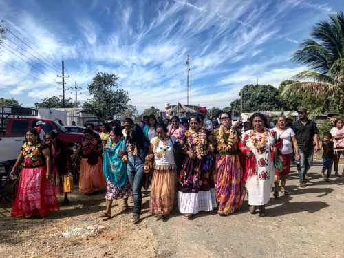 Recorre Marichuy comunidades de resistencia indígena en el Istmo ...