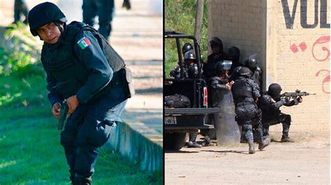 Nochixtlán police firing live rounds