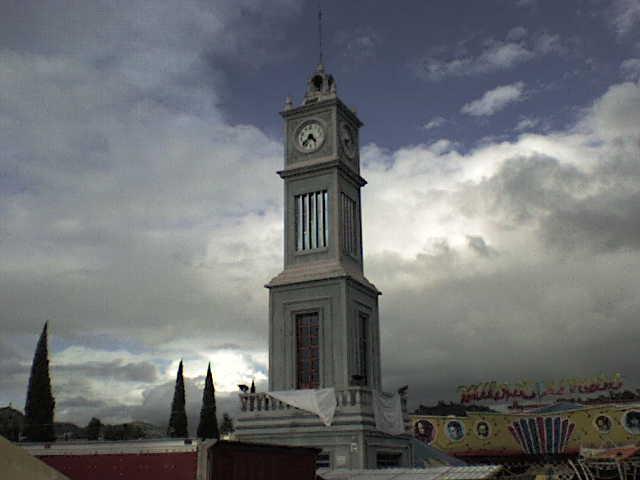 Tlaxiaco clock