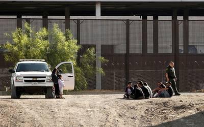 Migrantes frontera EU Mexico3