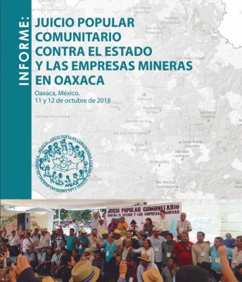 Informe Juicio Popular Comunitario contra del Estado y las Empresas Mineras